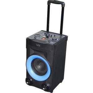 DJ Party Soundbox, Radio, Bluetooth, Mikrophon, schwarz