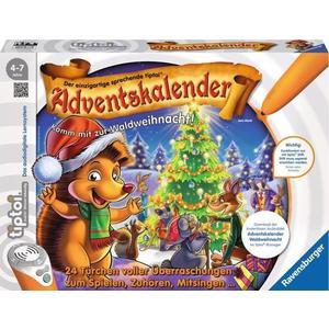 Ravensburger tiptoi Spiel: Adventskalender - Waldweihnacht der Tiere (00758)