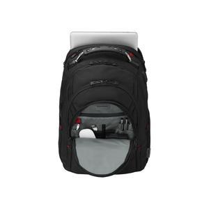 WENGER Ibex Ballistic Deluxe 35,56cm 14Zoll-40,64cm 16Zoll Laptop Backpack Black (606493)