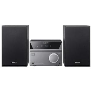 Sony CMT-SBT40D - Home-Audio-Minisystem - Schwarz - Grau - 1 Disks - 50 W - 2-Wege - 9,5 cm