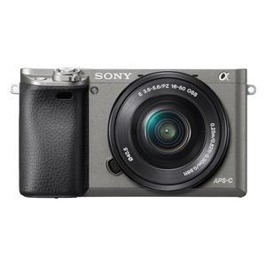 Sony Alpha ILCE-6000+16-50mm OSS grau graphitgrau Kit