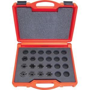 Intercable Presseinsatzset 10-300 mm² für Al-Serie im Kunststoffkoffer 11-teilig