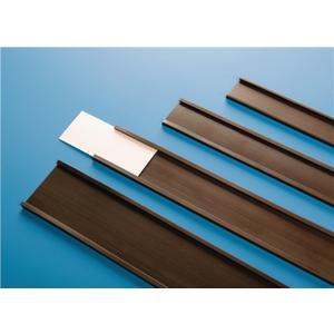 MAGNETOPLAN Etikettenhalter Breite 30 mm Rollenlänge 50 m Stärke 1,0 mm C-Profil magnetisch