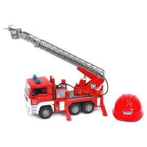 Bruder, MAN TGA Feuerwehr mit FW-Helm 01981, 47 cm, Rot