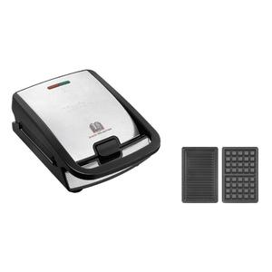 TEFAL Multi-Kontaktgrill Snack Collection Grill und Waffel SW857D ()