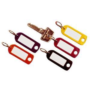 Schlüsselanhänger Key Clip farbig sortiert Kunststoff