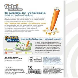 Ravensburger tiptoi® Pocket Wissen: Tiere Garten (64801481)