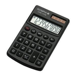 Olympia Taschenrechner LCD-1110 schwarz (941901001)