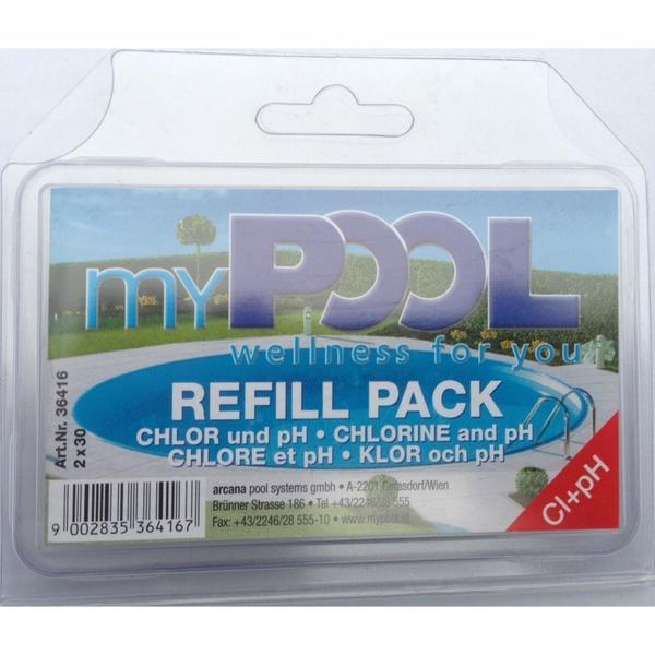 My Pool, Nachfülltablette Chlor- und/ pH Tabletten