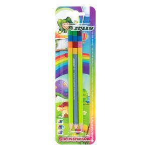 Jolly, Farbstifte, 3 Stück, Rainbow