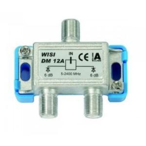 WISI 2-fach F-Verteiler 5-1000 MHz
