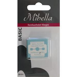 Mibella, Hornhauthobelklingen 10 Stück