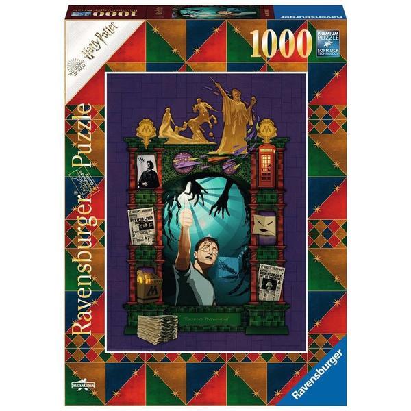 "Ravensburger Erwachsenenpuzzle ""Harry Potter 5"" 1.000 Teile ab 14 Jahre Harry Potter Puzzle von Ravensburger"