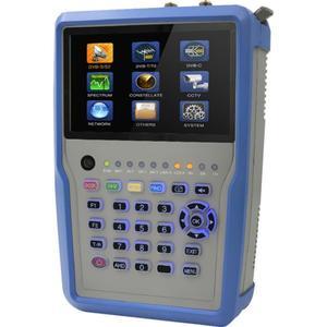 WISI Universalpegelmessgerät DVB-S2/C/T2 mit 7 Anzeige HW 7380