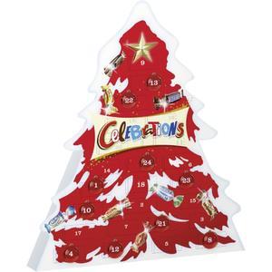 Mars Celebrations, Adventkalender Baum, 215g