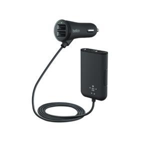 Belkin Road Rockstar 4-fach USB 7,2 A schwarz F8M935bt06-BLK