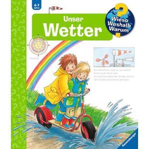 """Ravensburger """"Unser Wetter"""" Angela Weinhold Wieso? Weshalb? Warum?Kinderbücher ab 4 Jahre Ravensburger Buchverlag"""