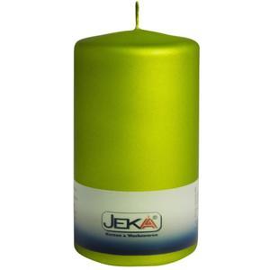 Jeka Kerzen Stumpen Velvet 70x150mm (PISTAZIE)