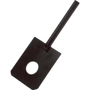 IDEAL Kalkspaten Länge 1110 mm schwarz