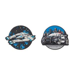 Schneiders Patches Boys Accessories Spaceship+Police Car (49005-206)