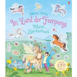 Usborne Verlag Im Land der Feenponys - Mein Stickerbuch (67389158)