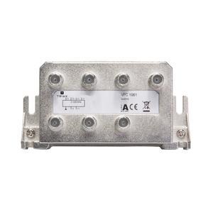 Triax BK-CATV Verteiler 6-fach 11,0dB 1,2 GHz