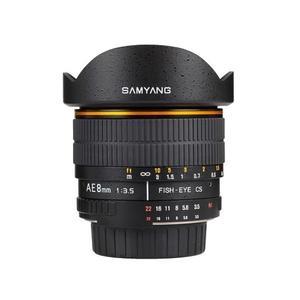 Samyang F 3,5/8 UMC Fish-Eye II Nikon AE