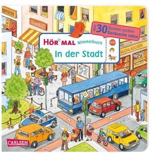Carlsen Hör mal (Soundbuch): Wimmelbuch: Stadt (67665112)
