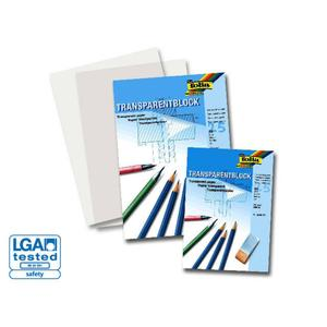 Folia, Transparentpapier Block 80 g/m² (STD)