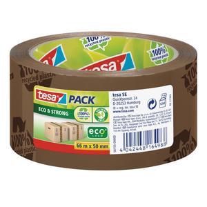tesapack Eco & Strong 66m 50mm braun (bedruckt) (58155-00000-00)