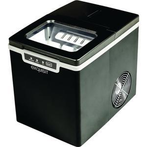 Eiswürfelmaschine EM 6001 sw 120 W schwarz ,Tank 1,9 l Kapazität 0,6 kg Eiswürfelbox