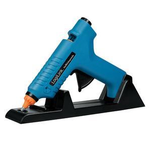 LogiLink Heißklebepistole, 80W, kabellos,m. Aufsteller,blau (WZ0052)