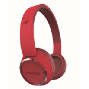ifrogz Audio Coda Bluetooth On-Ear Kopfhörer, rot