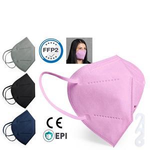 FFP2 Maske rosa einzelverpackt 1 Stück Mundschutzmasken & Nasenschutzmasken