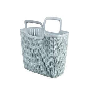 Multipack CURVER Einkaufstasche Knit 25l blau (03672-X60-00) - 5 Stück