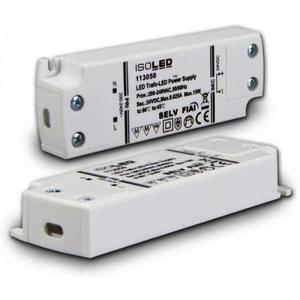 Lineartec LED Trafo 24V/DC 0-15W ultraflach