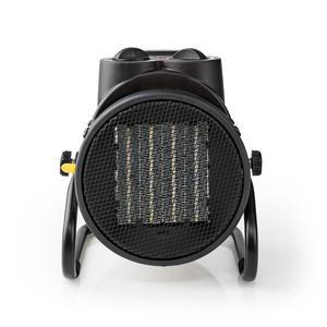 Nedis Industrie Heizlüfter / 1000 / 2000 W / Verstellbares Thermostat / 2 Wärmeeinstellungen / IP24 / integrierte Griffe