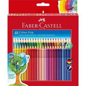 Faber-Castell Colour Grip Buntstift sortiert, Kartonetui, 48er-Set