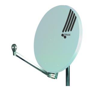 Offset-Parabolreflektor Hit Fesat 85 lichtgrau RAL7035
