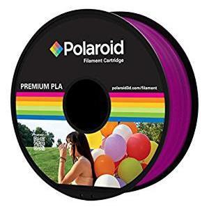 Polaroid Filament 1kg Premium PLA Filament transparent purpl (PL-8022-00)
