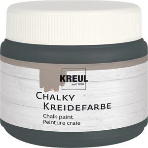 KREUL Chalky Kreidefarbe Volcanic Gray 150 ml (75322)