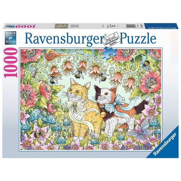 """Ravensburger Erwachsenenpuzzle """"Kätzchenfreundschaft"""" 1.000 Teile ab 14 Jahre Puzzle von Ravensburger"""