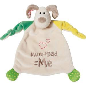 NICI Schmusetuch Hund Mum+Dad=Me (40139800)