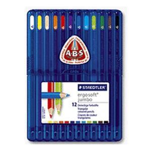 STAEDTLER Buntstift ergo. jumbo box (158 SB12)