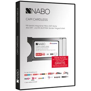Nabo Cardless CI+ Modul + integrierte Mikro-SAT-Karte 5000605 HD Austria CAM Cardless