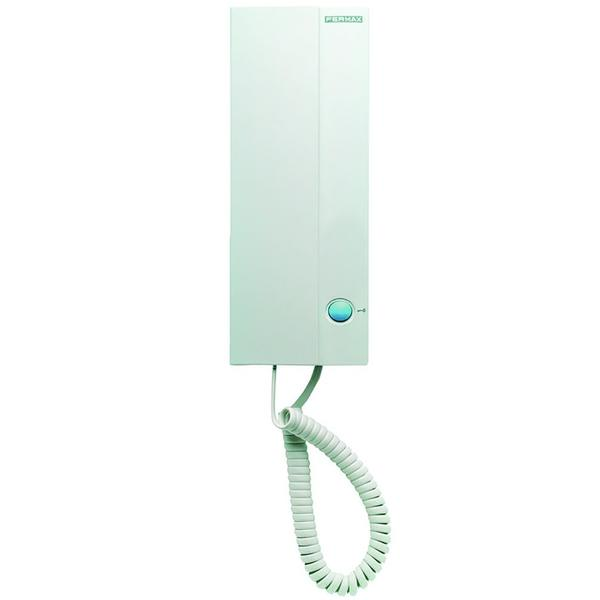 Fermax Loft Telefon Basic 4+N, weiß, mit Türoffnertaste