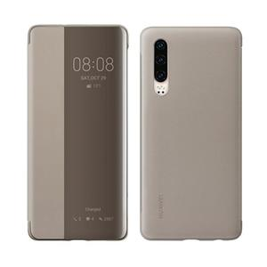 Huawei Smart View Flip Cover für P30, khaki