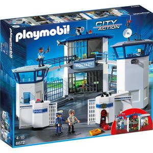 Playmobil City Action - Polizei-Kommandozentrale mit Gefängnis (6872)
