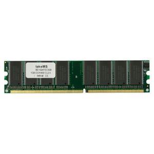 TakeMS Sonderposten DDR1 1GB PC 400 CL3 takeMS (64x8) 10J. HG (BD1024TEC600)