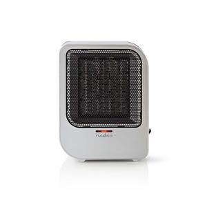 Nedis Keramik-PTC-Heizlüfter / 750 / 1500 W / 2 Wärme Modes / Überhitzungsschutz / Stolperschutz